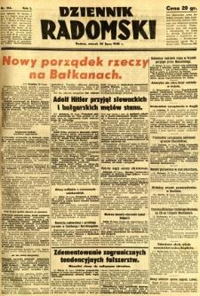 Dziennik Radomski, 1940, R. 1, nr 126