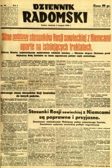 Dziennik Radomski, 1940, R. 1, nr 131