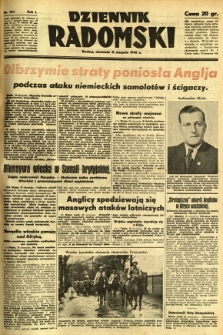 Dziennik Radomski, 1940, R. 1, nr 137