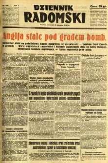 Dziennik Radomski, 1940, R. 1, nr 140