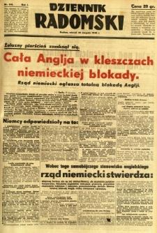 Dziennik Radomski, 1940, R. 1, nr 144
