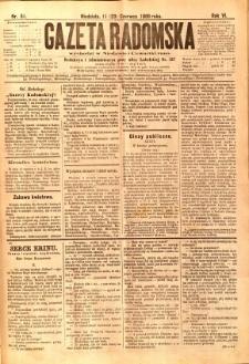 Gazeta Radomska, 1889, R. 6, nr 51