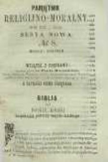 Pamiętnik Religijno-Moralny, 1859, R. 18, T. 4, nr 8