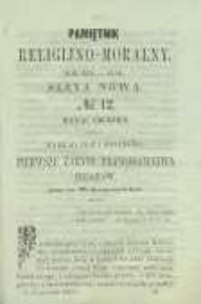 Pamiętnik Religijno-Moralny, 1859, R. 18, T. 4, nr 12