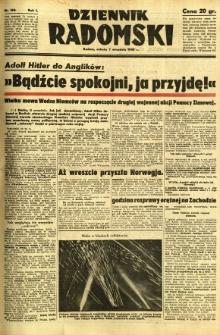 Dziennik Radomski, 1940, R. 1, nr 160