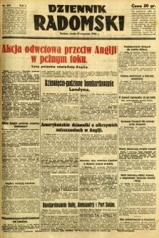 Dziennik Radomski, 1940, R. 1, nr 163