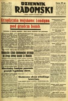 Dziennik Radomski, 1940, R. 1, nr 164