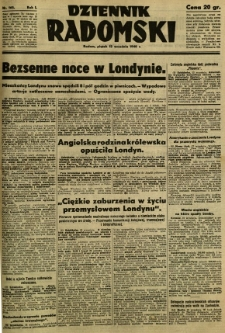 Dziennik Radomski, 1940, R. 1, nr 165