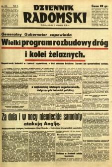 Dziennik Radomski, 1940, R. 1, nr 166