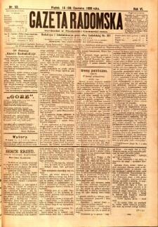 Gazeta Radomska, 1889, R. 6, nr 53