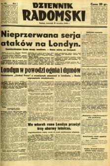 Dziennik Radomski, 1940, R. 1, nr 170