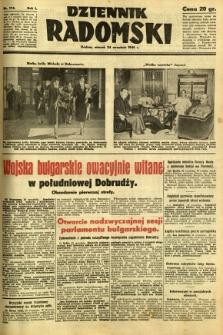 Dziennik Radomski, 1940, R. 1, nr 174