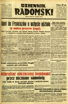 Dziennik Radomski, 1940, R. 1, nr 177