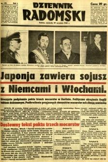 Dziennik Radomski, 1940, R. 1, nr 179