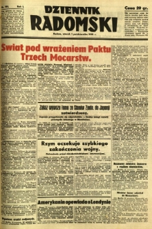 Dziennik Radomski, 1940, R. 1, nr 180