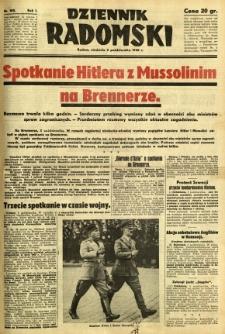 Dziennik Radomski, 1940, R. 1, nr 185