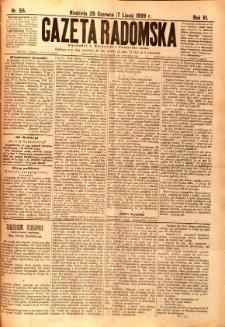 Gazeta Radomska, 1889, R. 6, nr 55