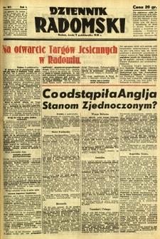 Dziennik Radomski, 1940, R. 1, nr 187