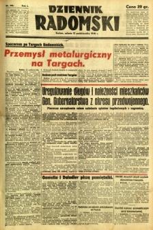 Dziennik Radomski, 1940, R. 1, nr 190