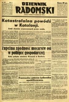 Dziennik Radomski, 1940, R. 1, nr 197