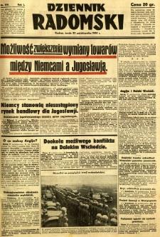 Dziennik Radomski, 1940, R. 1, nr 199