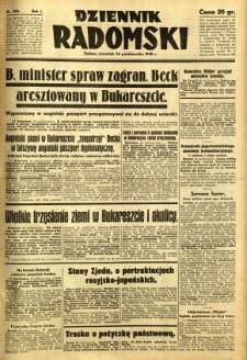 Dziennik Radomski, 1940, R. 1, nr 200