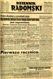 Dziennik Radomski, 1940, R. 1, nr 203
