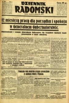 Dziennik Radomski, 1940, R. 1, nr 204