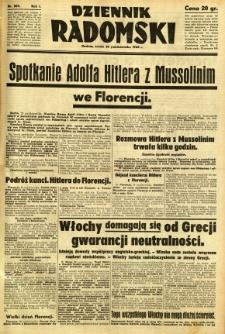 Dziennik Radomski, 1940, R. 1, nr 205