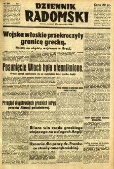 Dziennik Radomski, 1940, R. 1, nr 206