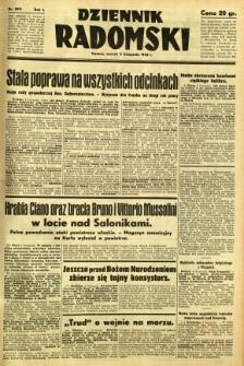 Dziennik Radomski, 1940, R. 1, nr 209