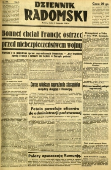 Dziennik Radomski, 1940, R. 1, nr 210