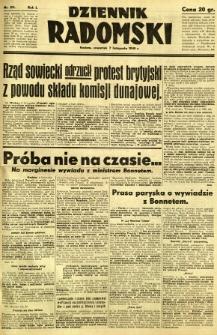 Dziennik Radomski, 1940, R. 1, nr 211