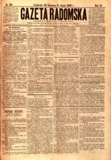 Gazeta Radomska, 1889, R. 6, nr 56