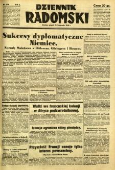Dziennik Radomski, 1940, R. 1, nr 218