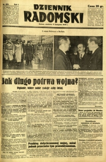 Dziennik Radomski, 1940, R. 1, nr 220