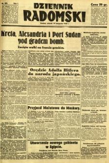 Dziennik Radomski, 1940, R. 1, nr 221