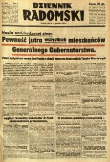 Dziennik Radomski, 1940, R. 1, nr 233