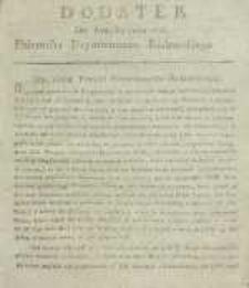 Dziennik Departamentowy Radomski, 1815, nr 34, dod.