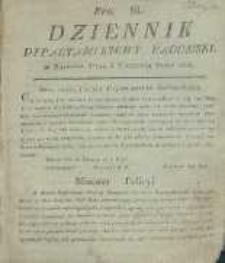 Dziennik Departamentowy Radomski, 1815, nr 36