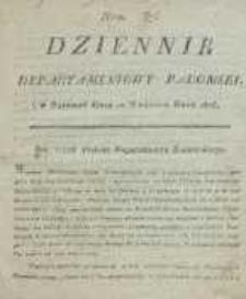 Dziennik Departamentowy Radomski, 1815, nr 37