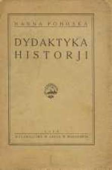 Dydaktyka historji