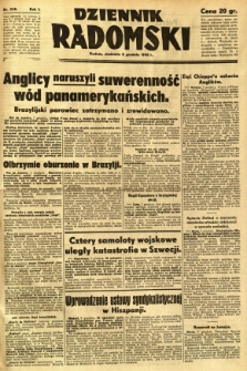 Dziennik Radomski, 1940, R. 1, nr 238