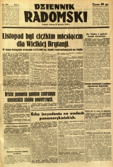 Dziennik Radomski, 1940, R. 1, nr 239
