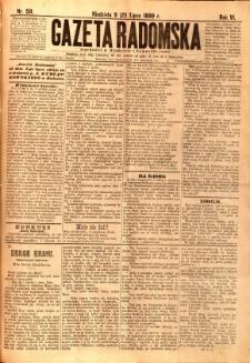 Gazeta Radomska, 1889, R. 6, nr 59