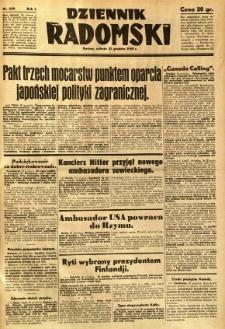 Dziennik Radomski, 1940, R. 1, nr 249
