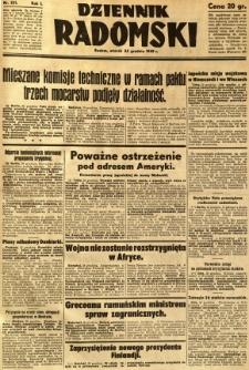 Dziennik Radomski, 1940, R. 1, nr 251