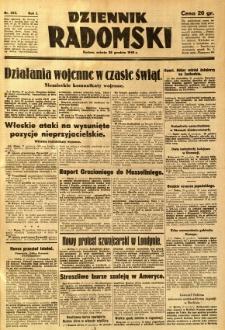 Dziennik Radomski, 1940, R. 1, nr 253