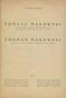 Tomasz Makowski : sztycharz i kartograf nieświeski