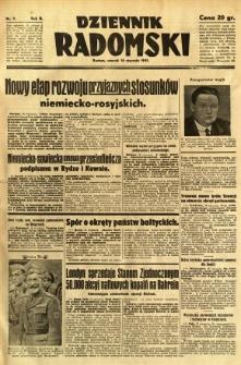 Dziennik Radomski, 1941, R. 2, nr 9